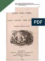 Uncle Tom's Cabine by Harriet Beecher Stowe