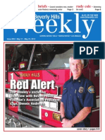 Red Alert--Beverly Hills Weekly, Issue #659