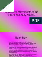 Progressive Movements 1960s