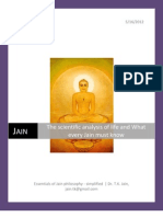 The Scientific Analysis of Life and What Every Jain Must Know