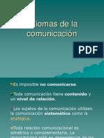 4- Axiomas de la comunicación