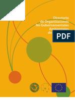 DIRECTORIO ONGs
