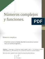 Números complejos y funciones
