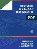Preventing Ecoli Es
