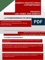 LA POSMODERNIDAD EN MÉXICO