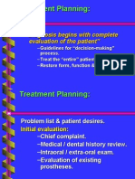 Implants Prostheses Treatment Planning 30 Jan 2012