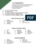 Prayers of a Catholic