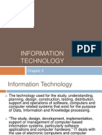 Chapter 3 - Information Technology