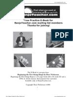 Banjoteacher.com Practice eBook