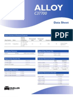 Product Data Sheet Alloy 3770