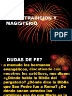 Biblia Tradicion y Magisterio
