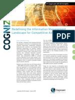 Redefining the Information Management Landscape for Competitive Advantage