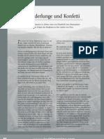 """""""Pulmón de res y confeti""""  Entrevista a La Ultima Reyna de Cerro de Pasco para la revista ila (355) de Alemania - mayo 2012"""