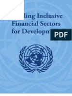 Building Inclusive Financial Sectors the Blue Book