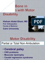 Fragility Fractures in Children With Motor Disability