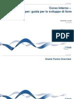 Corso Oracle Forms