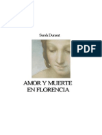 Dunant Sarah - Amor Y Muerte en Florencia