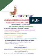 Locandina Estate 2012