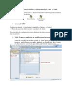 Añadir Pestañas a la pantalla estándar de SAP