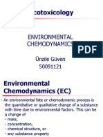Environmental Chemodynamics- Ünzile Güven