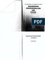 Engineering Professionalism and Ethics