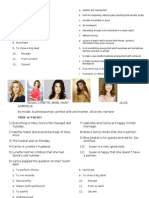 Desperate Housewives Season 1 Episode 1 Worksheet