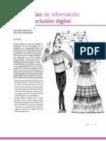 Tecnologías de información para la inclusión digital