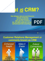 What is CRM..2011-09-13