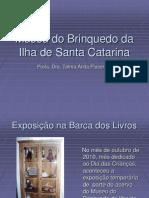 Catalogação Exposição na Braca dos Livros do Museu do Brinquedo da Ilha de Santa Catarina