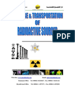 Storage & Transportation of Radioactive Sources