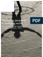 Managing People Key Trends 2010