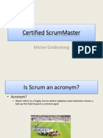 ScrumMaster Training Book
