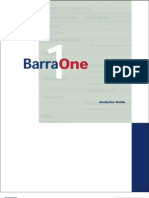 BarraOne Analytics Guide