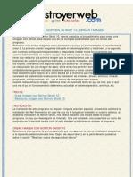 Destroyer Web - Tutorial Norton Ghost 10, Crear Imagen