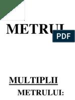 metril- multiplii- submultiplii
