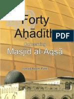 40 Hadith on Masjid Al Aqsa