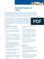 Age Friendly Cities Checklist