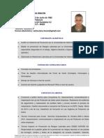 Curriculum Vitae Carlos