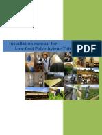 Biogas Plant Low Cost Polyethylene