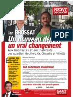 Journal de campagne de Ian Brossat