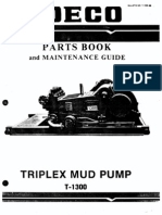 Ideco t1300 Parts List