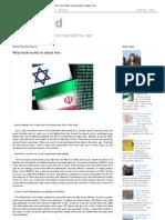 War Tard_ Why Israel Wants to Attack Iran
