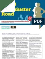 MoD War Minster Road Concept Statement - Consultation Version 180412