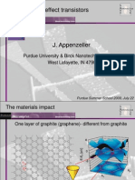 Graphene - An Experimentalist's Perspective
