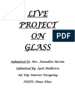 Glass Project INIFD
