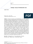 2007 the Social Epidemiologic Concept of Fundamental Cause