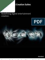 Autodesk Entertainment Creation Suites 2013 - Folleto