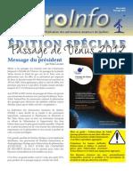 Transit de Vénus - 5-6 mai 2012