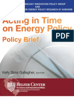 Acting in Time Policy Brief