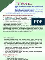 Dasar HTML